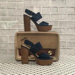 Aldo platform block/heel